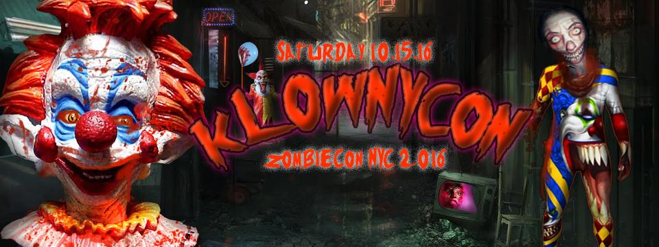 zombiecon nyc presents klownykon